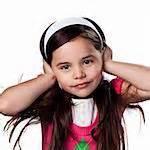 not listening girl